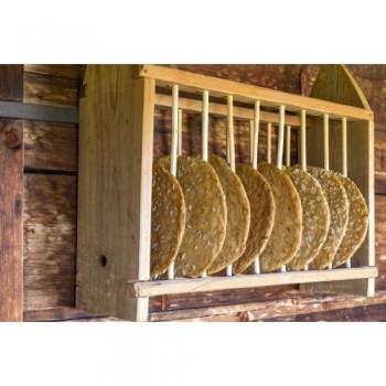 Die alten Bauernhöfe bewahren noch heute das Brot so auf