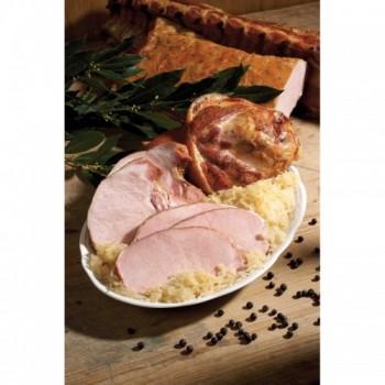 Schweinskarree serviert mit Vinschgauer Sauerkraut