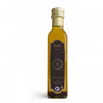 Olivenöl Extra Vergine Basilikum-Aroma