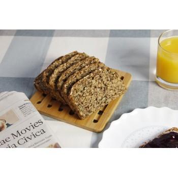 Veganes Vollkornbrot zum Frühstück