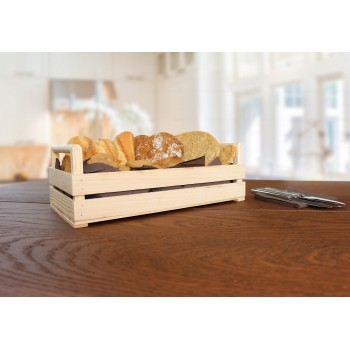 Rustikale Holzkiste für den Täglichen Gebrauch