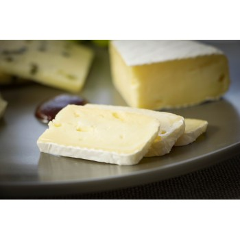 Camembert-Käse Schnitte