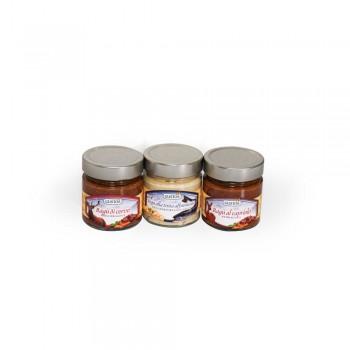 Sauce mit Hirsch, Reh und Forelle