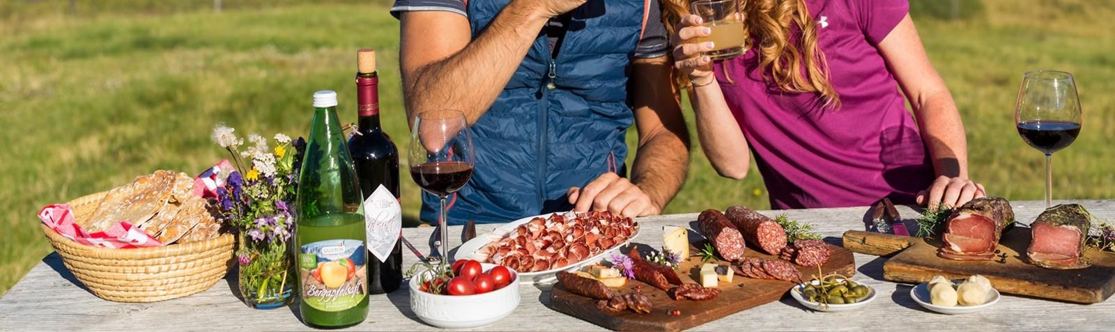 Verkostungspakete der Südtiroler Küche